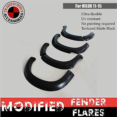 AU259.99 • Buy FENDER FLARES JUNGLE Suitable For Toyota Hilux N70 09/2011-15 SR SR5