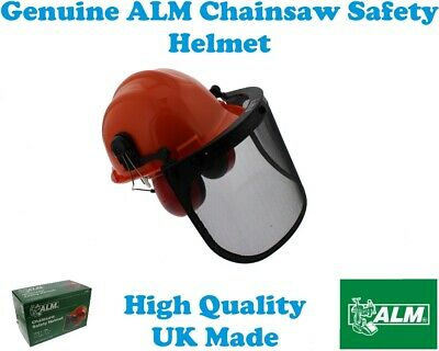 £21.75 • Buy Chainsaw Safety Helmet With Visor & Ear Defenders