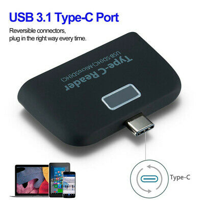 AU9.99 • Buy Type C To USB 2.0 Hub SD/TF Card Reader Adapter For Oneplus 8 7 7T Pro 6T 5T 3T