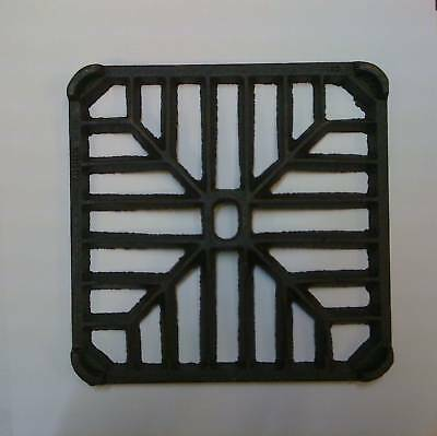 £5.50 • Buy 6  SQUARE Cast Iron Gully Grid Driveway Drain Cover
