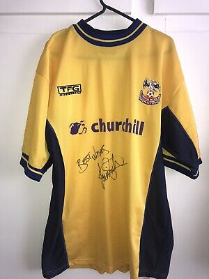 *M* SIGNED 2000/01 Crystal Palace Away Football Shirt (ks) • 39.99£