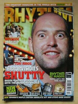 Terrorvision Rhythm Magazine Dec 19989 Shutty Cover With Feature Inside Uk • 8£