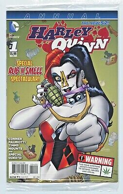 $ CDN18.60 • Buy Dc New 52 Harley Quinn Annual #1 & #1a Variant Weed Smell / New 52 #0 #1 Nm/nm+