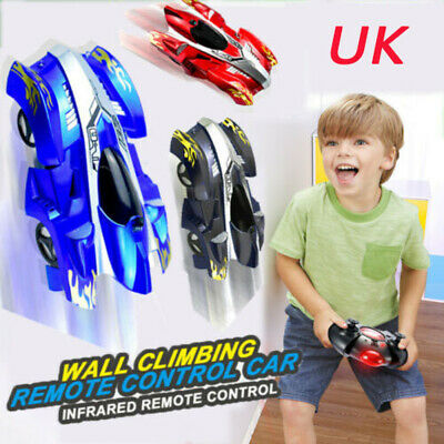 Electric RC Wall Climbing Remote Control Rechargeable Racing Car Kids Toys Gift • 11.33£