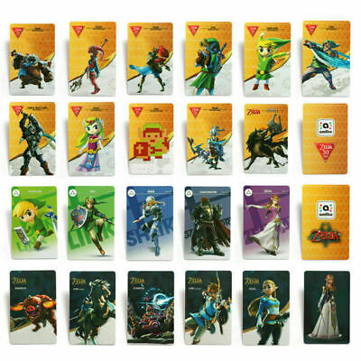 AU17.82 • Buy 22PCS Zelda Breath Of The Wild NFC Tag Game Cards For Switch/Wii Full Set PVC