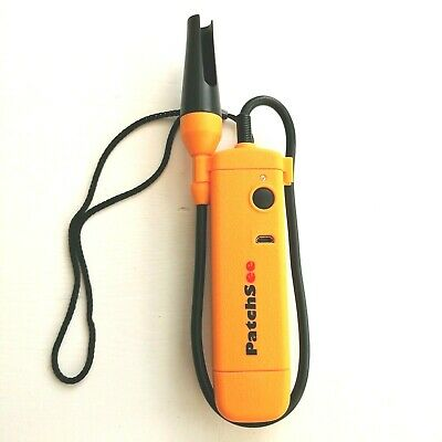 Network Cable Tester Patchsee Computer LAN WAN RJ45 Cat5e Cat6 Diagnostics Tool • 12.50£