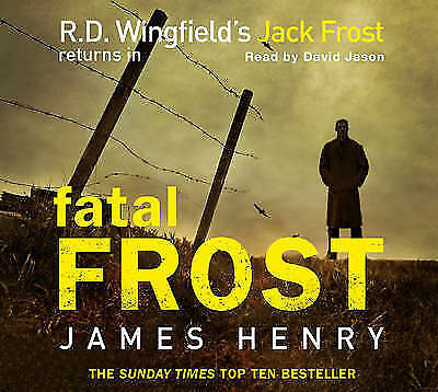 R.D.Wingfield - Fatal Frost Audio Book FREE P&P • 6.99£