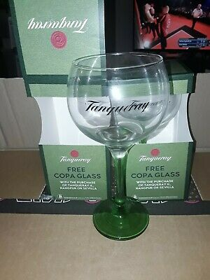 Tanqueray Goldfish Bowl Gin Glasses Set Of 2 Boxed New  • 12£