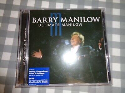 Barry Manilow : Ultimate Manilow CD (2004) Free P+p • 1.99£