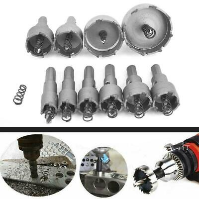 £21.57 • Buy 10x Hole Saw Tooth HSS Stainless Steel Drill Bit Set Cutter Tool For Metal Wood