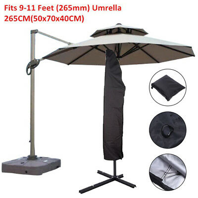 AU27.14 • Buy Parasol Banana Umbrella Cover Cantilever Outdoor Garden Pati Shield Waterprofw