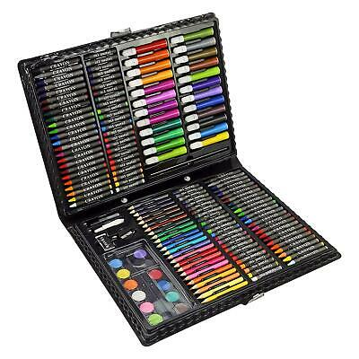 £12.95 • Buy 168pc Art Set Childrens Kids Colouring Drawing Painting Arts & Crafts Case