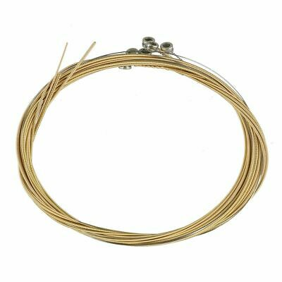 $ CDN9.85 • Buy 18pcs/3set Acoustic Guitar Strings 1st-6th String Steel Strings Replacement Gold