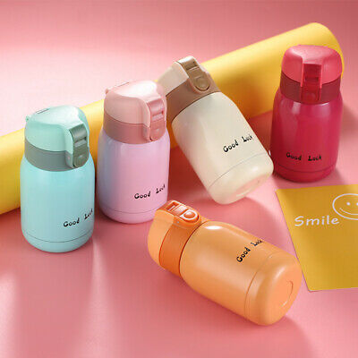 AU16.35 • Buy Mini Thermos Stainless Steel Vacuum Cup Light Portable Kids Water Bottle Mu.f