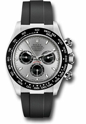 $ CDN48026.69 • Buy Rolex Daytona Chronograph 18k WG Grey Panda Dial Watch Box&Paper 116509  2019