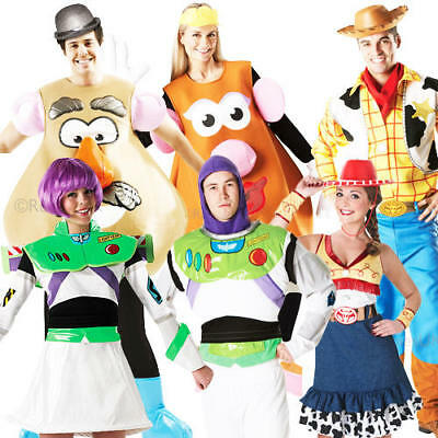£39.99 • Buy Disney Toy Story Adult Fancy Dress Movie Characters Mens Ladies Costume Outfits