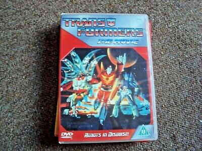 £3.19 • Buy Classic Animated Transformers The Movie Dvd Free Uk Post