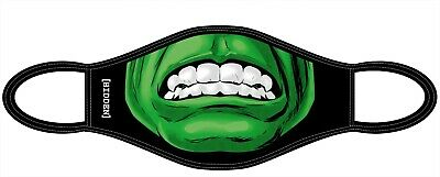 Adults Hulk Superhero Face Mask, Washable And Reusable Fabric Face Covering • 3.96£