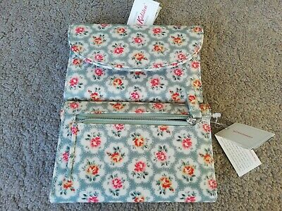 Cath Kidston BNWT Ladies Provence Rose Folded Curved Wallet/purse • 15.95£