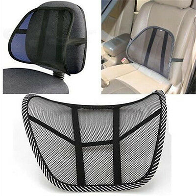 AU16.18 • Buy Vent Massage Cushion Mesh Back Lumber Support Office Chair Desk Car Seat.f