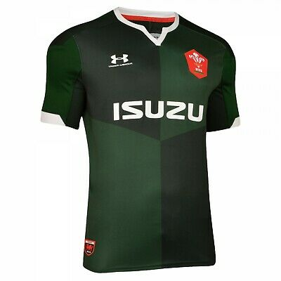 £29.99 • Buy Official Under Armour Wales Wru Away Rugby Jersey Adults 2019/2020