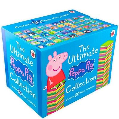 The Ultimate Peppa Pig Collection Set (Peppa's Classic 50 Storybooks Box Set)  • 31£