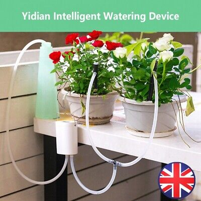 Automatic Drip Irrigation System Plant Controller Self Watering Kits For Garden❀ • 12.99£