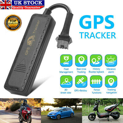 G900M Car GPS GPRS Tracker Vehicle Spy GSM Real Time Tracking Locator Device UK • 10.69£