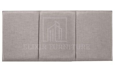 Headboard  Turin Fabric 20   OSLO  Upholstered Bed - All Sizes & Colours • 26.99£