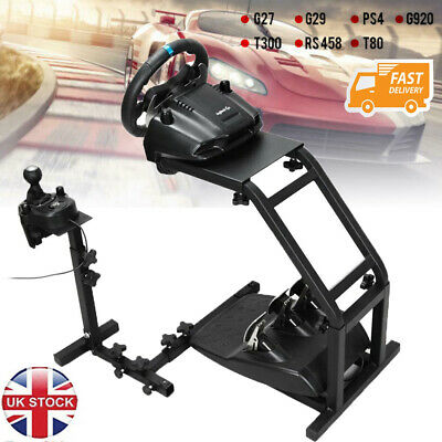 Steering Wheel Stand Racing Simulator Gt Gaming For Logitech G29 G920 T300RS T80 • 41.99£