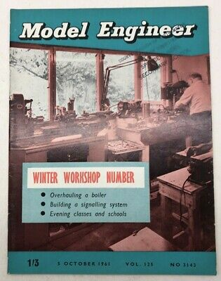 £4 • Buy Model Engineer Magazine 5th October 1961 Vol 125 Issue No. 3143 Excellent Used