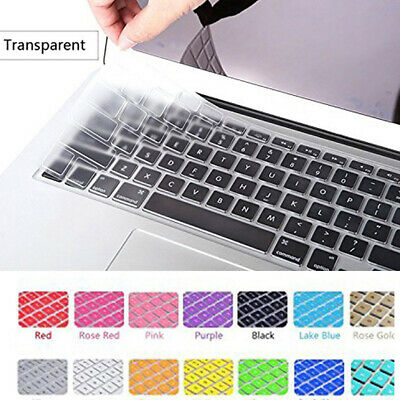 $0.99 • Buy 11''-17'' Silicone Keyboard Skin Cover Film For Apple Macbook Pro Protect Case ~