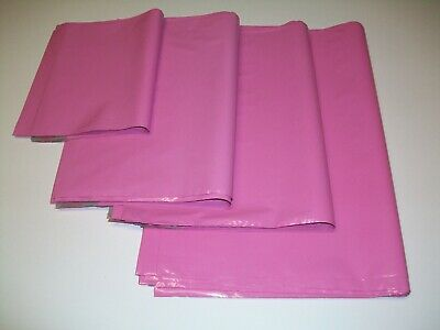 £5.99 • Buy 50 PINK Mixed Sizes Mailing Poly Postal Bags Packaging Postage Mailers Envelopes