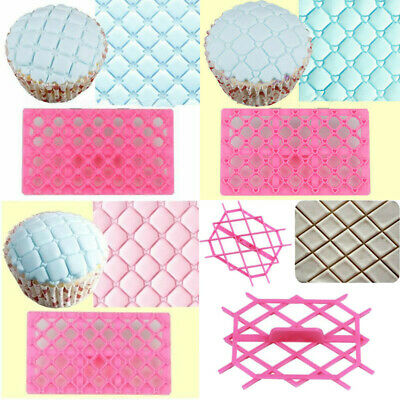 Decorating Cutter Mould  Icing Cake Sugarcraft Quilting DIY Fondant Embosser • 1.68£