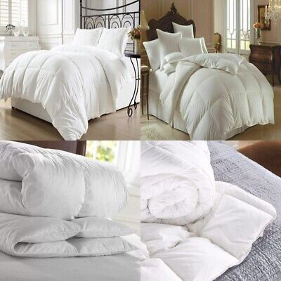 £16.95 • Buy 🔥luxury Hotel Quality Goose / Duck Feather & Down Duvet Quilt/pillow All Sizes