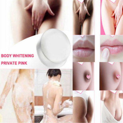 £4.46 • Buy Whitening Soap Crystal Nipples Intimate Private Bleaching Lips Body Skin Care Aa