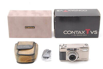 $ CDN568.30 • Buy (Near Mint)Contax TVS 35mm Point & Shoot Film Camera W/Case From JAPAN A383