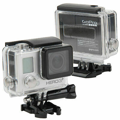 $ CDN17.52 • Buy  For Gopro Hero 4 3+ Camera 40M Diving Underwater Housing Case Waterproof Cover