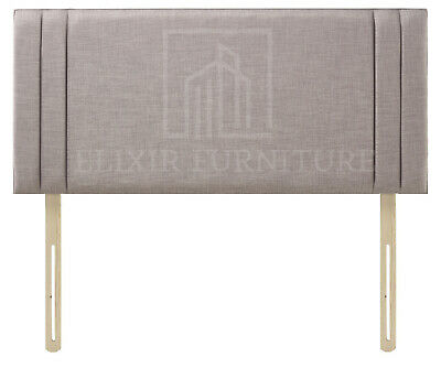 Headboard  Turin Fabric 20  Side Pannel Upholstered Bed - All Sizes & Colours • 35.99£