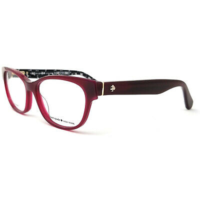AU77.65 • Buy New Kate Spade Josee 0S4P Burgundy Eyeglasses 50-15-135