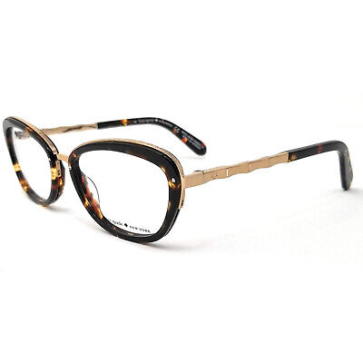 AU77.65 • Buy New Kate Spade Maribeth 0CU8 Tortoise & Rose Gold Eyeglasses 52mm