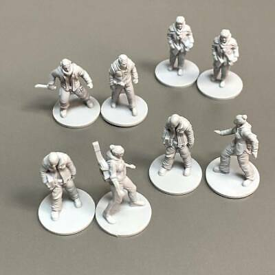 AU13.35 • Buy  LOT 8 Heroes For Dungeons & Dragons Role Playing Miniatures Board Game Figures
