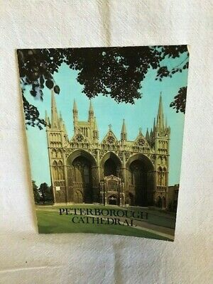 Peterborough Cathedral Guide - The Rev. R E Sibthorp • 3£