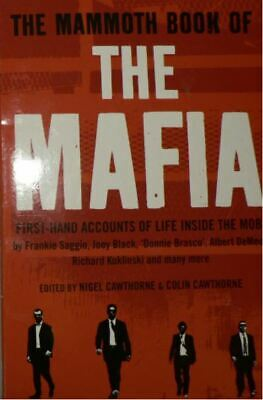 The Mammoth Book Of The Mafia, Cawthorne, Nigel, New Book • 4.74£