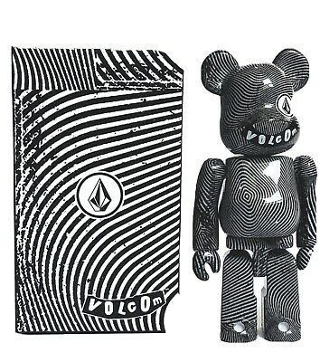 $250 • Buy Bearbrick X Volcom OG Black White 100%