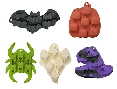 Ice Tray Halloween Themed Treats Silicone Mold Jelly Chocolate Soap Cake Sweets • 2.99£