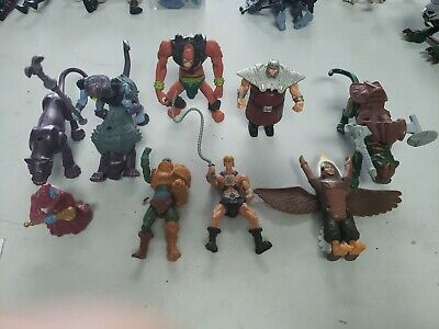 $24.44 • Buy 2003 McDonald's Toy Masters Of The Universe Toys Lot Of 9 Figures Loose Comes As