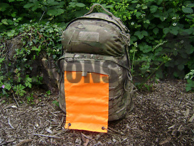 MOLLE Fitted Roll Away Orange Air Marker Signal Panel For Camelbak Motherlode • 11£