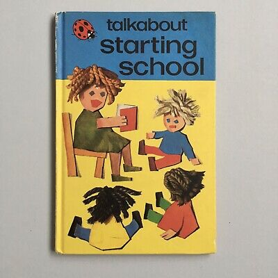 Vintage Ladybird Book - Talkabout Series - Starting School - 1977 • 6.99£