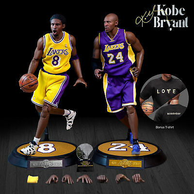 $499.99 • Buy Kobe Bryant (Los Angeles Lakers) 1/6 Scale NBA Duo By Enterbay